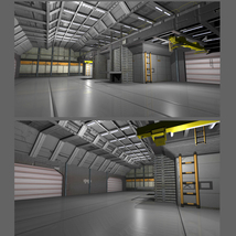 Shuttle Bay FBX image 2
