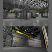 Shuttle Bay FBX image 3