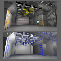 Shuttle Bay FBX image 5