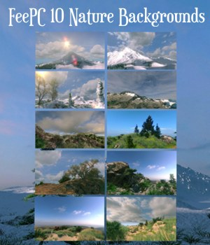 10 Scenic Landscapes Backgrounds 2D Graphics FeePC