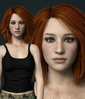 MbM Michelle for Genesis 3 and 8 Female 3D Figure Assets Heatherlly