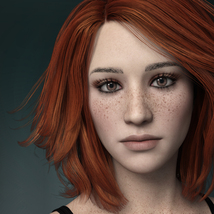 MbM Michelle for Genesis 3 and 8 Female image 1