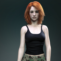 MbM Michelle for Genesis 3 and 8 Female image 2