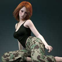 MbM Michelle for Genesis 3 and 8 Female image 3