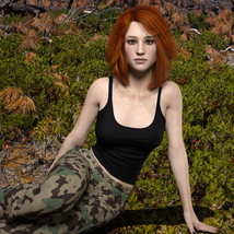 MbM Michelle for Genesis 3 and 8 Female image 7