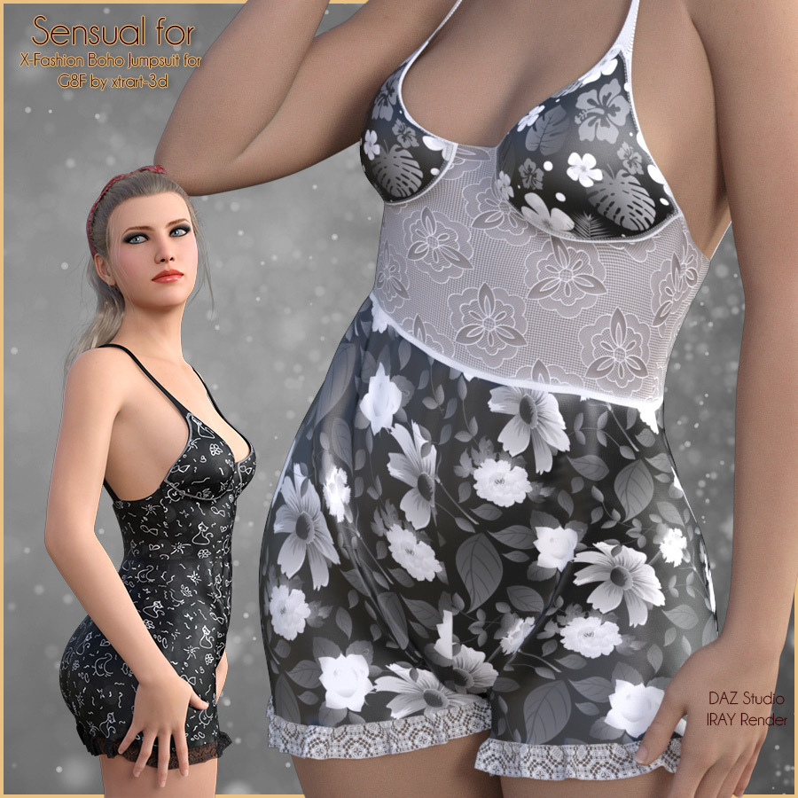 Sensual for Boho Jumpsuit by antje