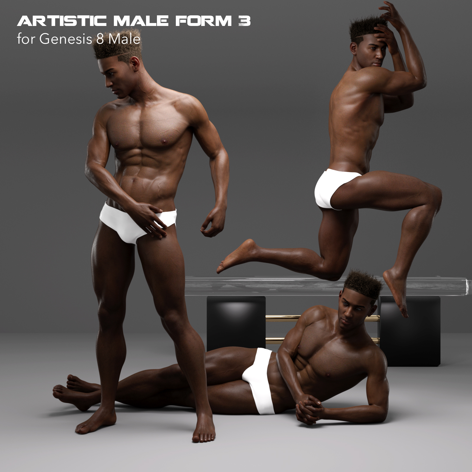 Artistic Male Form 3 for Genesis 8 Male by P7ArtJ5