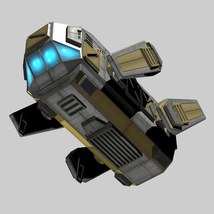 Drone Type FBX - Extended License  image 3