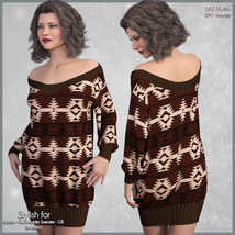 Stylish for Off Shoulder Sweater image 5