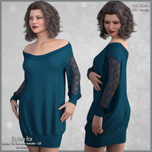 Stylish for Off Shoulder Sweater image 6