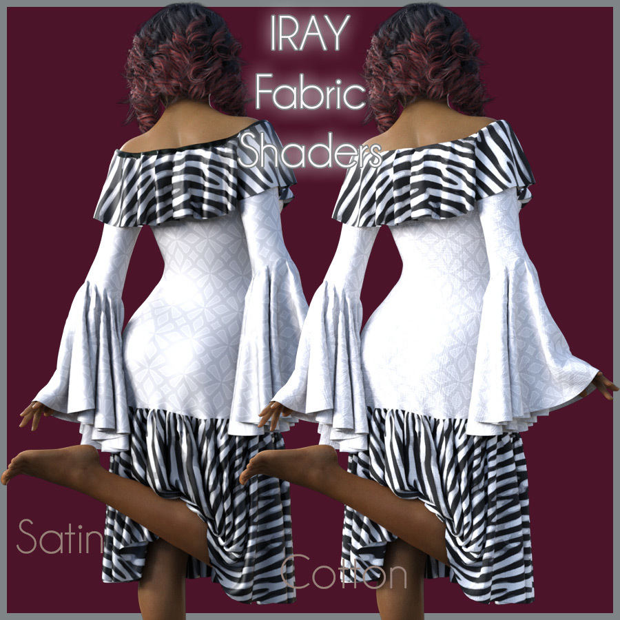 IRAY Fabric Shaders  by antje