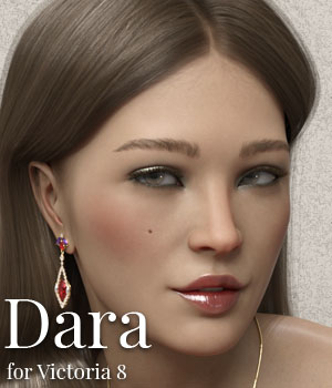 Dara for Victoria 8 3D Figure Assets ColorGaleria