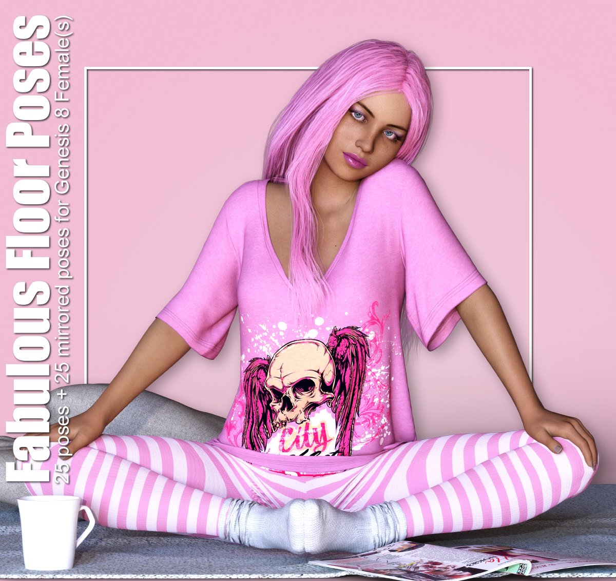 Fabulous Floor Poses for G8F by creativechaos