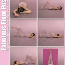 Fabulous Floor Poses for G8F image 1