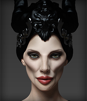 Mrs Evil HD for Victoria 8 3D Figure Assets Anagord