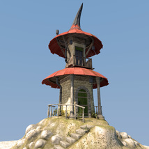Fairy hut for Daz Studio image 1