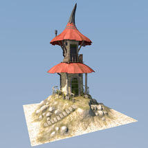 Fairy hut for Daz Studio image 2