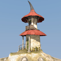 Fairy hut for Daz Studio image 3