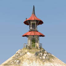Fairy hut for Daz Studio image 4
