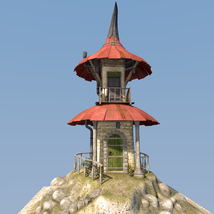 Fairy hut for Daz Studio image 5