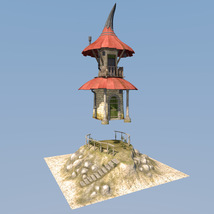 Fairy hut for Daz Studio image 6