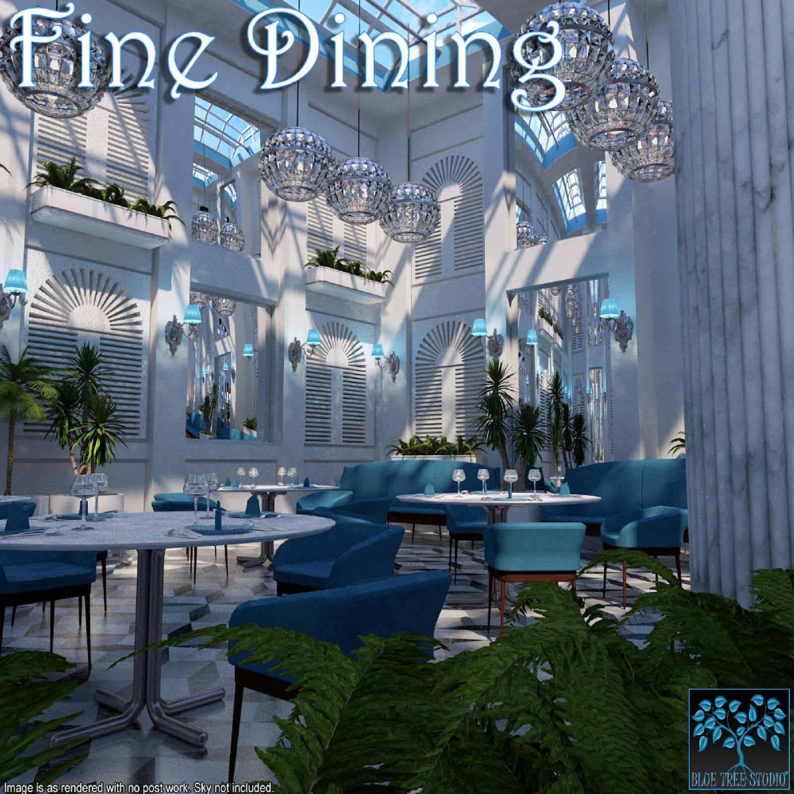 Fine Dining for Poser by BlueTreeStudio