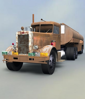 PETERBILT 281 FOR VUE  3D Models 3DClassics