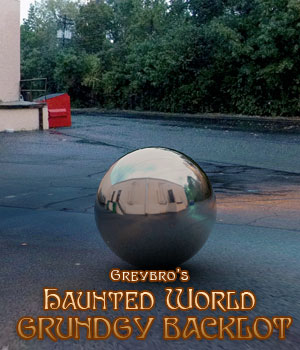 Greybro's Haunted World - Grundgy Backlot Dusk HDRI 3D Lighting : Cameras Disciple3d