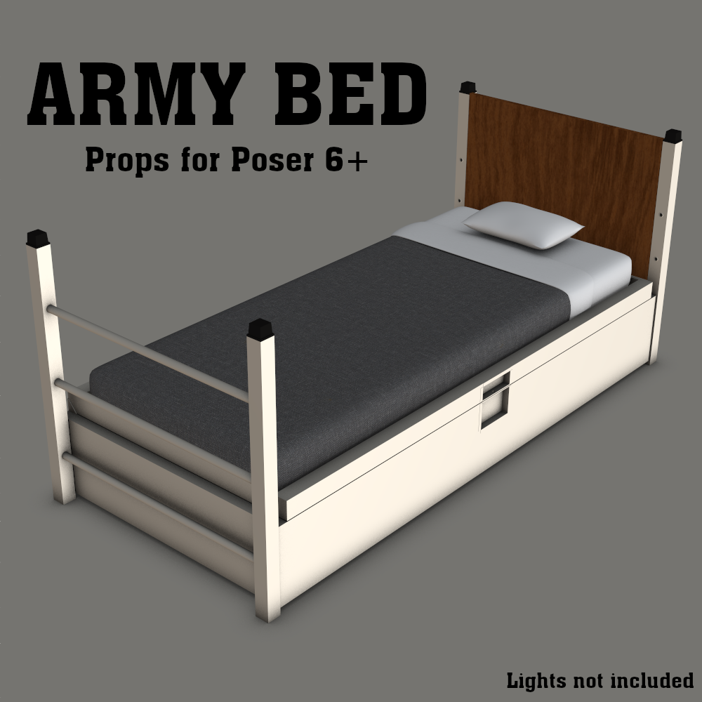 Army Bed by gmm2