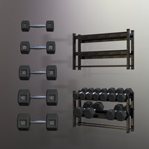 Swole: Free Weights for Genesis 3 and 8 Females image 2