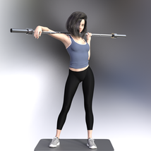 Swole: Gym Poses for Genesis 3 and 8 Females image 8