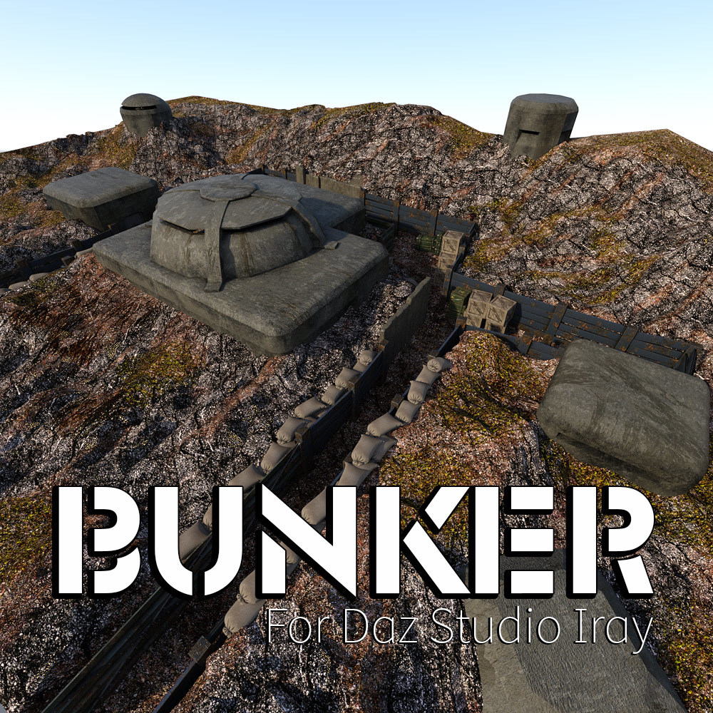 Bunker for DS Iray