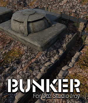 Bunker for DS Iray 3D Models powerage