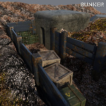 Bunker for DS Iray image 2