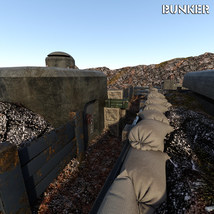 Bunker for DS Iray image 7