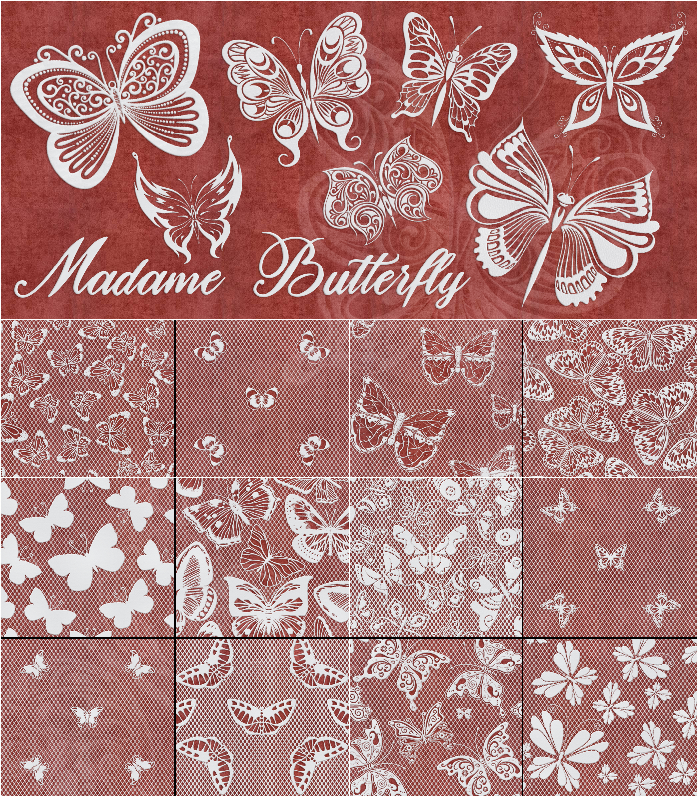 Madame Butterfly by Atenais