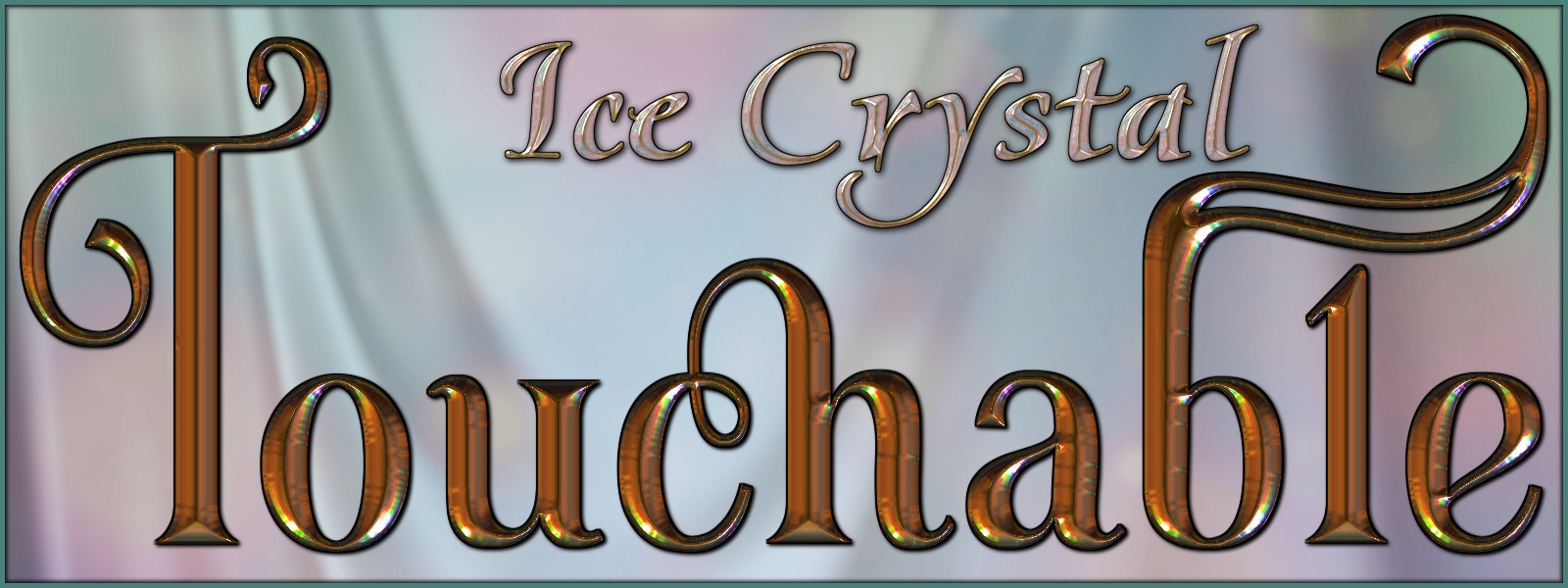 Touchable Ice Crystal Poser by -Wolfie-