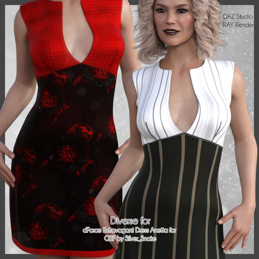 Diverse for Extravagant Dress by antje