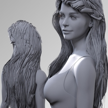 Braided Bombshell for Genesis 8 Female image 5
