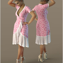 Cosmopolitan for dForce Tunic III for G8F image 3