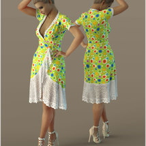 Cosmopolitan for dForce Tunic III for G8F image 9