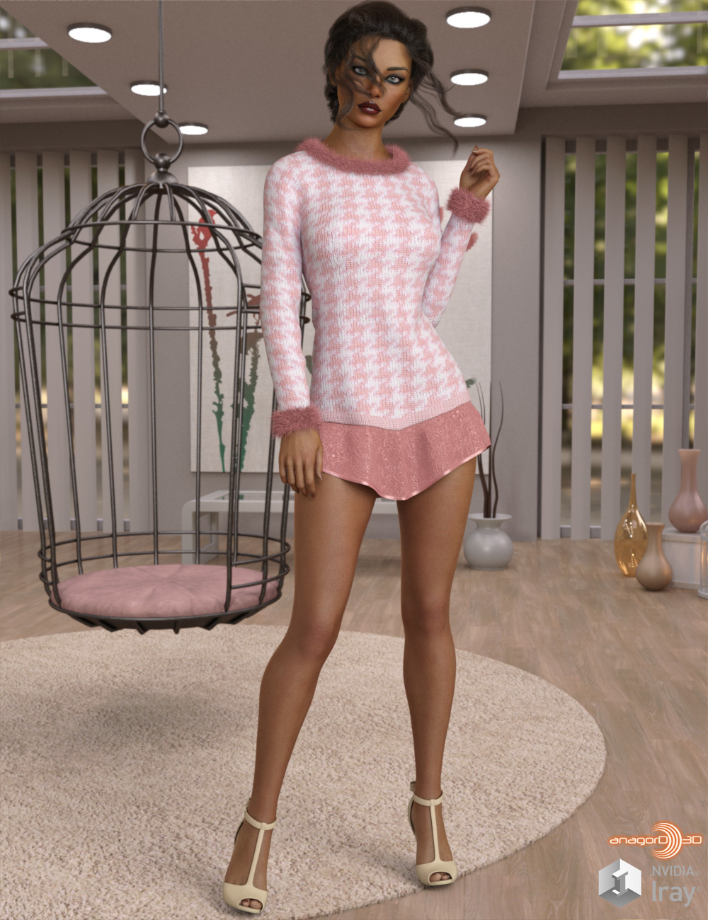 VERSUS - dforce Peppery Sweater n Dress G8F by Anagord