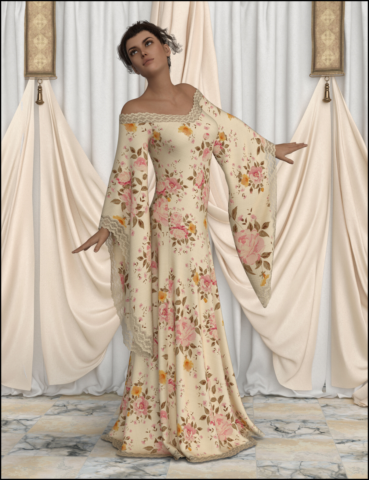 dForce - Connie Long Gown by Lully