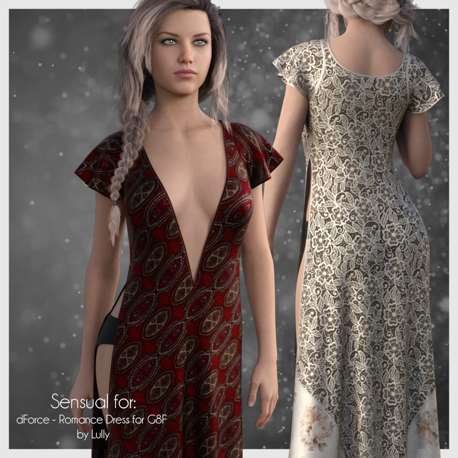 Sensual for Romance Dress by antje