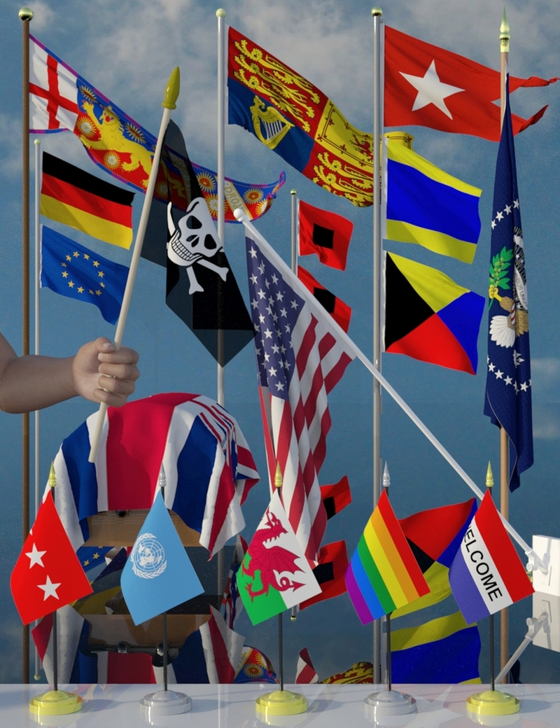 Flags Galore by SirArtist