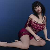 MbM Ivy for Genesis 3 & 8 Female image 3