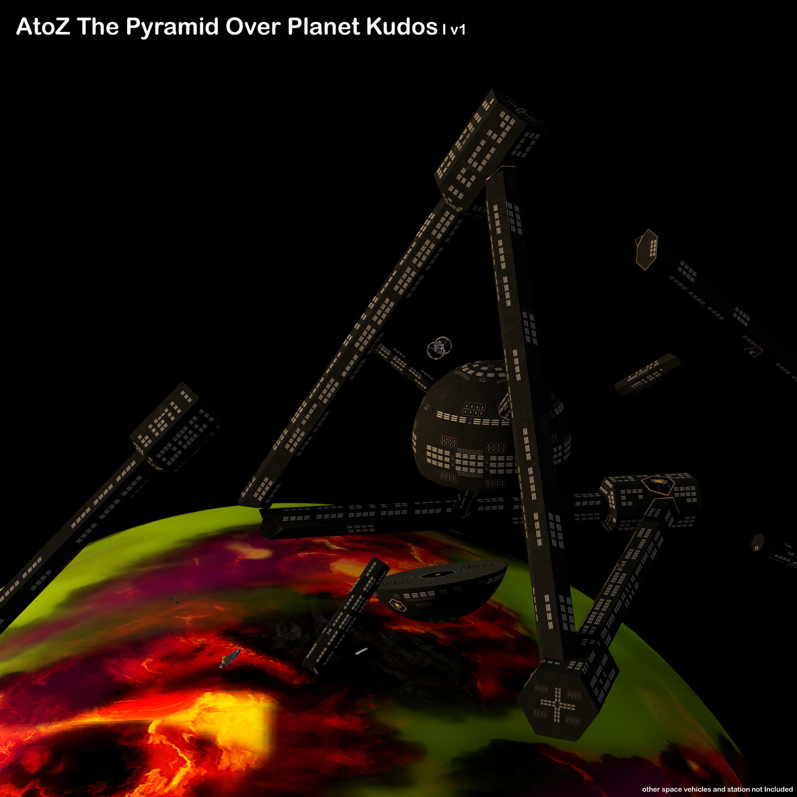 AtoZ The Pyramid Over Planet Kudos I v1