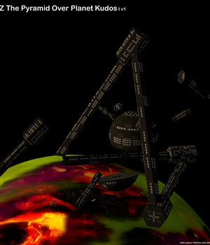 AtoZ The Pyramid Over Planet Kudos I v1 3D Models AtoZ