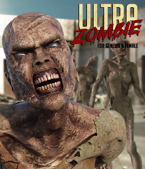 Ultra Zombie G8F 3D Figure Assets powerage