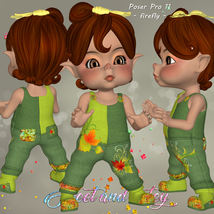 DA-Sweet and cutey for Kit or Peepot Overalls-1 image 5